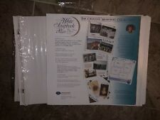 31 creative memories original 12x12 WHITE REFILL PAGES new out of package