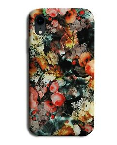 Stylish Colourful Flower Oil Painting Phone Case Cover Floral Art Artistic G833