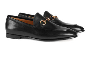 Gucci Jordaan - Black Leather Loafers