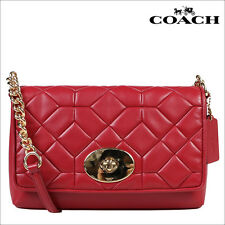 COACH CANYON QUILT CROSSTOWN CROSSBODY IN CALF LEATHER F37488 $435