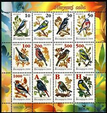 2006. Belarus.BIRDS of the garden. M/sh. MNH