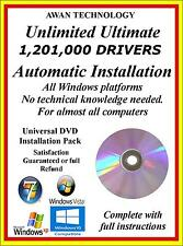 Unlimited Automatic Drivers Installation Pack Only Windows XP VISTA / 7 / 8 / 10