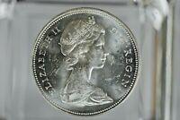 1966 Canada Silver Dollar $1 Elizabeth II  Canoe Coin    M-548