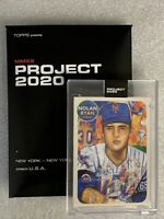 Topps PROJECT 2020 Card #67 Nolan Ryan by Andrew Thiele PR 7383