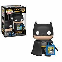 Funko Pop! Batman with SDCC Bag #284 SDCC Exclusive New Mint Condition