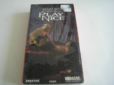 VHS PLAYNICE***NEW***UNRATED***