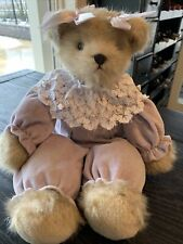 Bearington Bear Collection – dressed in purple- 16 Inches Retired 2011