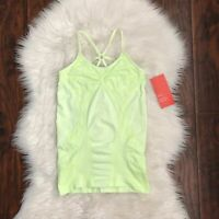 NEW Zella Size S Lime Electric Printed Athletic Work Out Tank