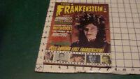 Vintage magazine: CASTLE of FRANKENSTEIN #6 - 1965 - GORGON, HITCHCOCK, DRACULA