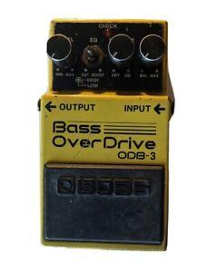 Boss OBD-3 Bass Overdrive Effect Pedal