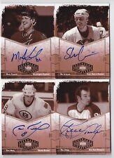 04-05 UD Legendary Signatures Cam Neely Auto Bruins Autographs 2004
