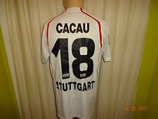 "VfB Stuttgart Puma Heim Trikot 2004/05 ""debitel"" + Nr.18 Cacau + Signiert Gr.M"