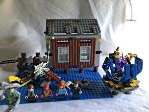LEGO Spider-man 2 - Doc Oak's Hideout Set # 4856 - Complete