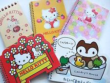SANRIO Cute Hello kitty Landry's house Vintage Note book set