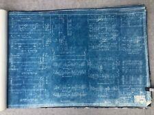 Vintage Blueprints 'authentic AISC style Steel Structures' (1942)