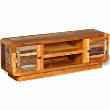 vidaXL TV Cabinet TV Unit Stand Home Furniture Cupboard Solid Reclaimed Wood