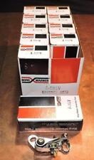 NOS Dealer Stock Borg Warner A101V Distributor Points 10 Individually Box Sets!