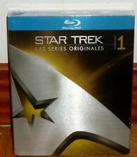 STAR TREK-LAS SERIES ORIGINALES-1ª TEMPORADA-8 BLU-RAY-SEALED-CASTELLANO-NUEVO