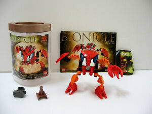 Lego Bionicle Bohrok Tahnok (8563) Complete with Canister, Manual