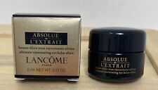 LANCOME Absolue L'extrait Regenerating Ultimate Eye Balm Elixir 5ml Small Travel
