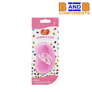 Jelly Belly BUBBLE GUM 3D Gel Car Air Freshener JEWEL COLLECTION A1553