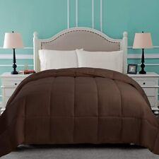 Superior King Chocolate Classic Hypoallergenic Down Alternative Comforter