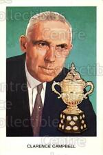 1983 Hall of Fame Postcards #A03 Clarence Campbell