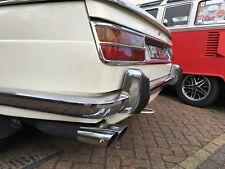 BMW 1800-2000-2000CS  Neue Klasse, original two part Abarth exhaust system