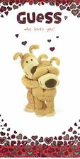 Boofle Guess Who Loves You? Valentine's Day Card Cute Greeting Cards