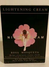 CREMA ACLARADORA DE NOCHE ROSA MOSQUETA/ BRIGHTENING NIGHT CREAM+ROSEHIP OIL
