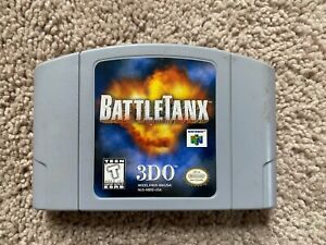 BattleTanx (Nintendo 64, 1998) Gray CART ONLY, 100% Authentic, TESTED