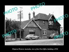 OLD LARGE HISTORIC PHOTO OF PINJARRA WESTERN AUSTRALIA, THE POST OFFICE c1950