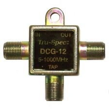 Wall Tap Directional Coupler Splitter DC-12 dB Wall Plate Tap Tru Spec DCG-12