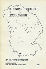 REDUNDANT CHURCHES IN LINCOLNSHIRE published 1976