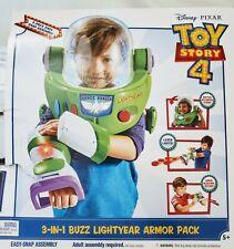 Disney Pixar Toy Story 4 Buzz Lightyear 3-In-1 Armor Pack Premium Quality