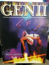 Brett Daniels Genii Issue 1998