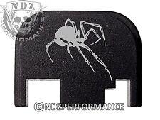 for Glock Rear Plate 17 19 21 22 23 27 30 34 36 41 Blk G1-4 Black Widow Spider