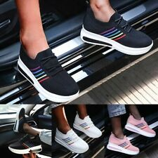 Women Sneaker Walking Rubber Sole Breathable Athletic Sports Tennis Casual Shoes