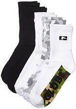 Globe NEW Men's Malcom Crew Socks - Camo - Size - One Size BNWT