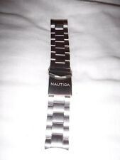 NAUTICA MENS S/S 24MM WATCH STRAP NEW WITHOUT TAGS