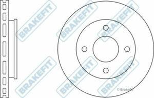 2x Brake Discs Pair Vented fits MITSUBISHI COLT Mk6 1.3 Front 04 to 12 4A90 Set