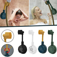 360° Adjustable Rotatable Shower Head Wall Mount Holder No-Punching Shower Rack