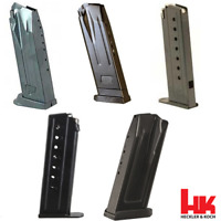 Heckler & Koch OEM H&K Handgun Various Pistol Mags HK Magazine 8 9 & 10 Round RD