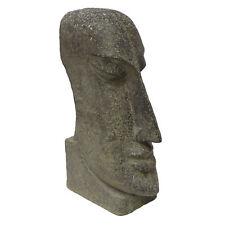 Osterinsel Moai Figur Skulptur Stein Lavasand Bali Tiki Garten Deko 59cm