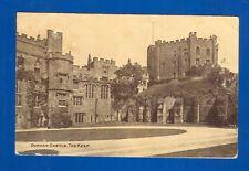 Postcard Durham Castle - The Keep-posted Durham 6/7/1923.