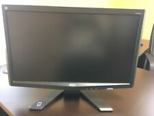 "Acer 20"" Widescreen LCD monitor Model# X203H Version Tested and Working EUC"