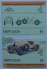 1925 KISSEL GOLDBUG Car Stamps (Leaders of the World / Auto 100)