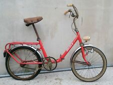 """Eccezionale bicicletta pieghevole BETTY tipo Graziella Carnielli RUOTE DA 20"""""""
