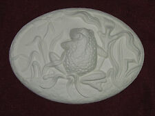 Ceramic Bisque 2 Dona's Frog and Dragonfly Seasons Insert Ready to Paint U-Paint