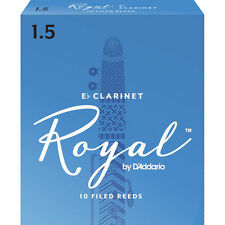 Royal by D'addario Eb Clarinet Reeds 10 Pack 1.5 Strength RBB1015